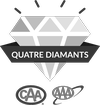 Quatre diamants logo