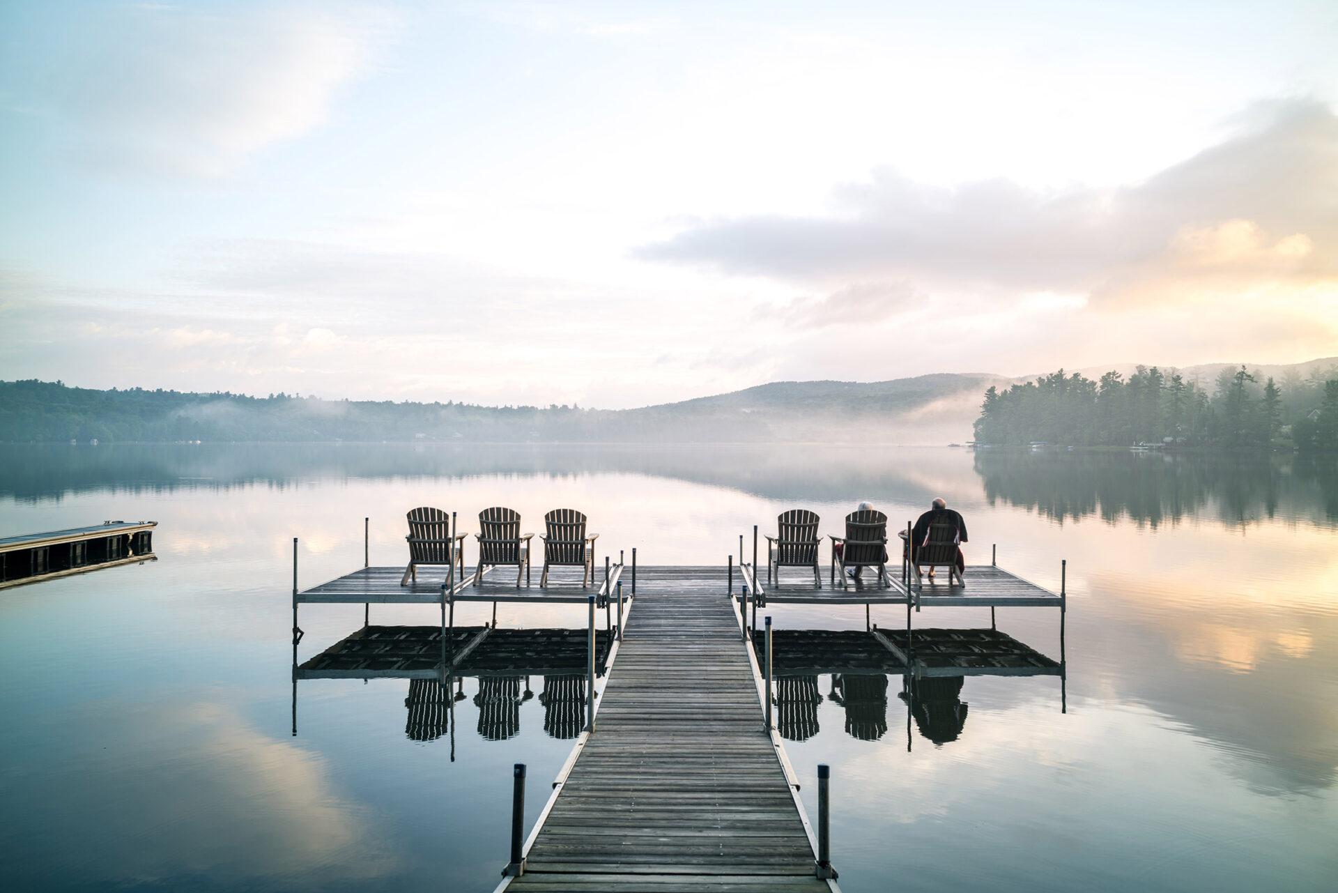 Profitez du lac enchanteur
