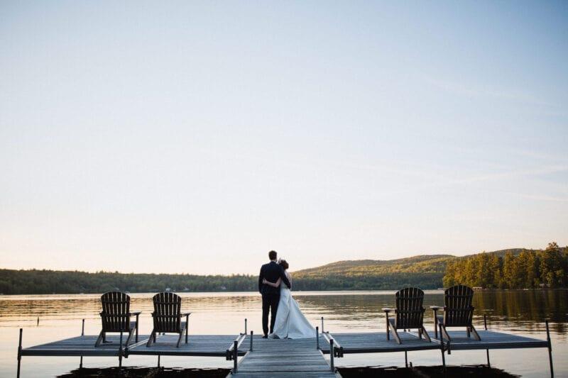 Votre mariage sur le bord du lac Massawippi