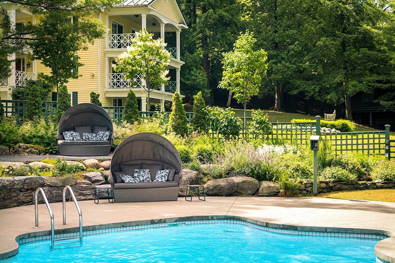 Relaxer au spa et à la piscine du Ripplecove