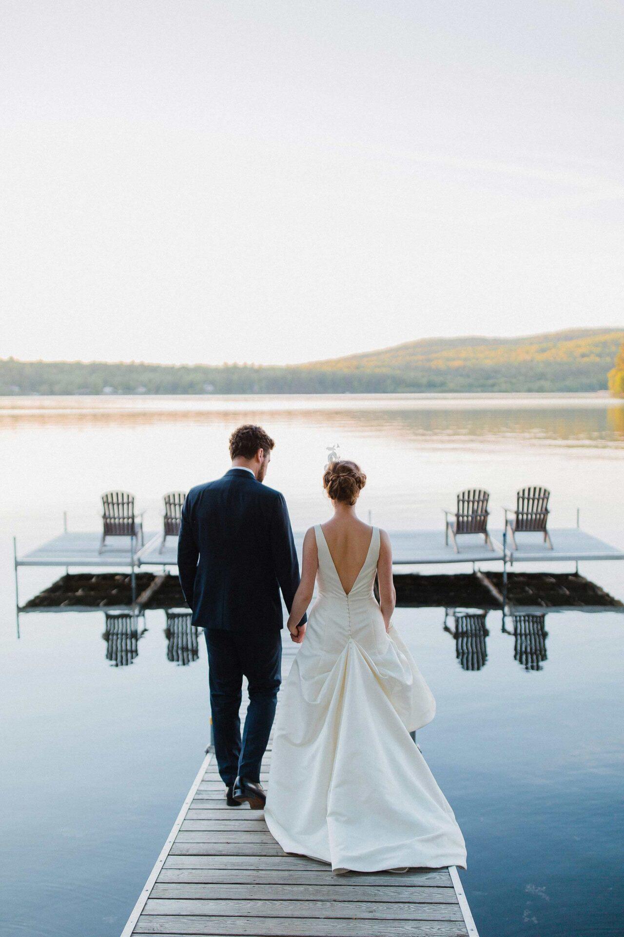 Romantic wedding in Estrie
